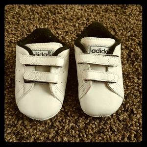 Baby Adidas shoes. Size 1